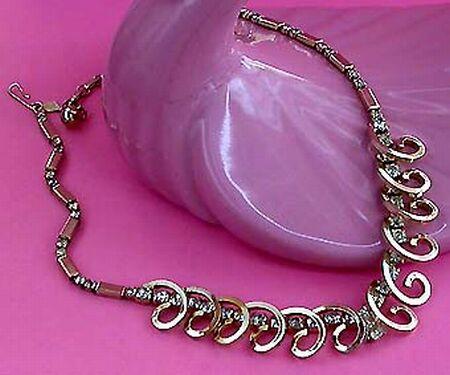 vintage bridal necklace 56