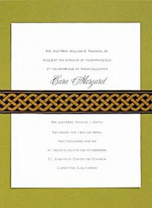 wedding invitations o2