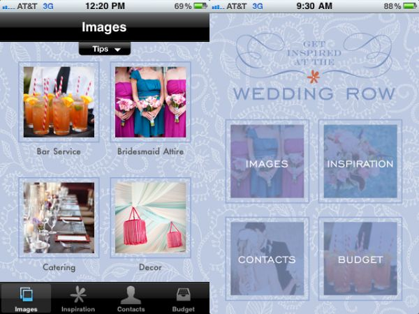 Wedding Row App