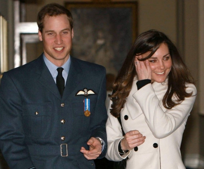 Will and Kate's wedding anniversary