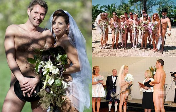 Nude Weddings Where Bride And Groom Bare It All - Wedding Clan-3478