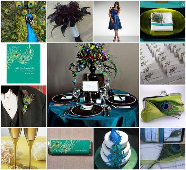 Unique Peacock Wedding Ideas: Unique Peacock Wedding Ideas