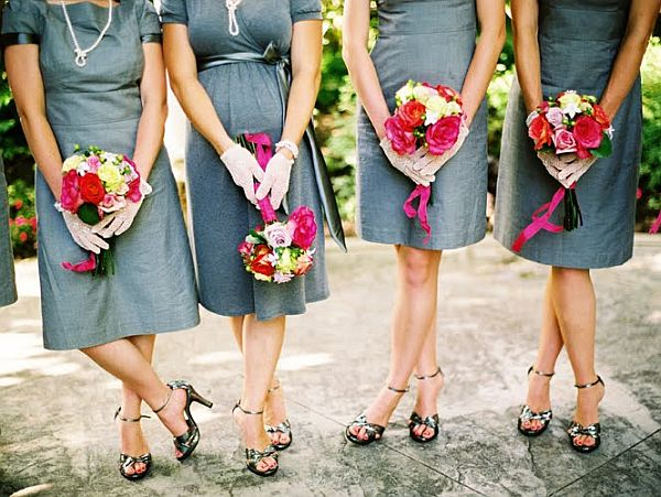 Vintage Bridesmaid Dress Ideas_1