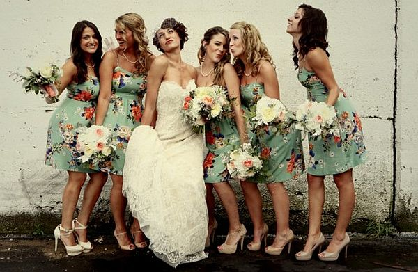 Vintage Bridesmaid Dress Ideas_2