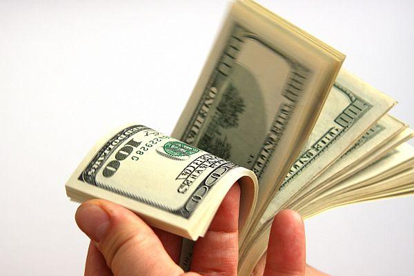 Fan of dollars