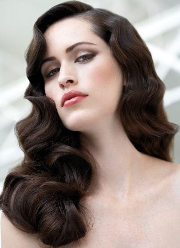 Soft romantic curls