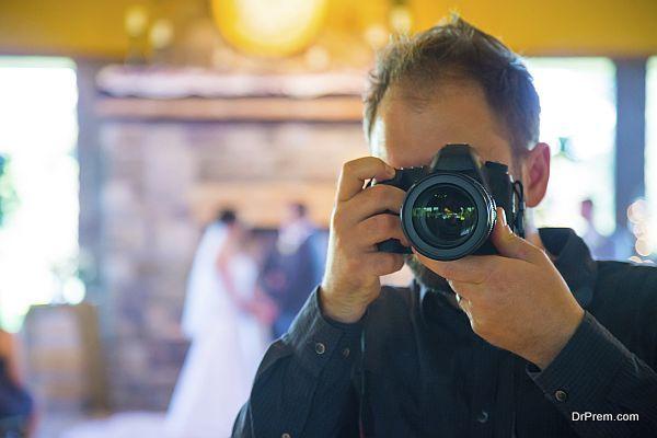 Wedding Photographer Self Portrait