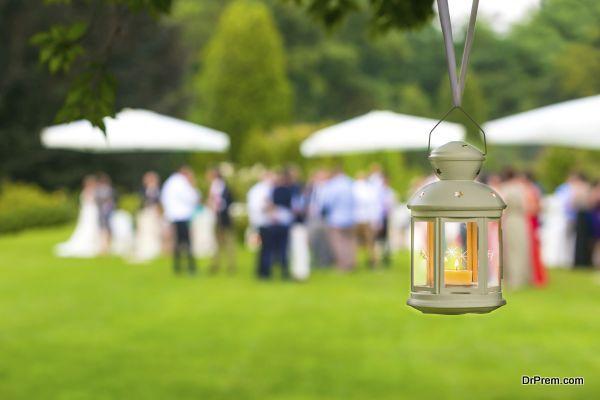 wedding reception outdoor