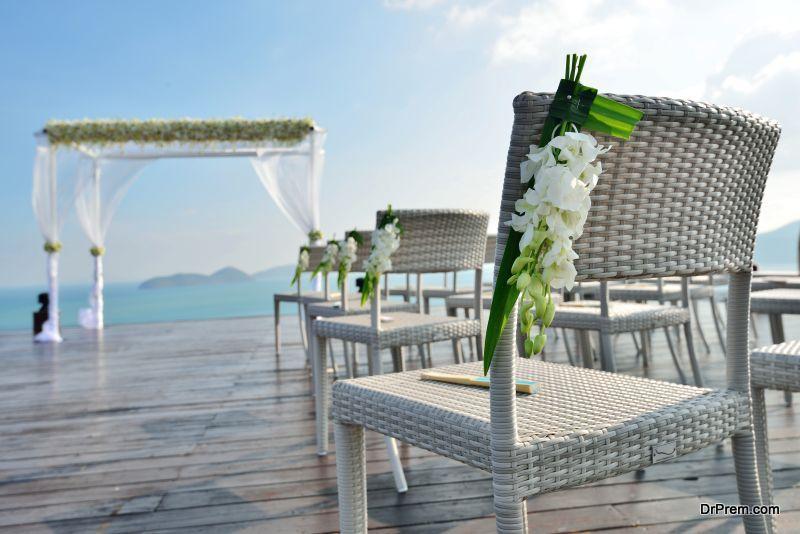 perfect wedding backdrop