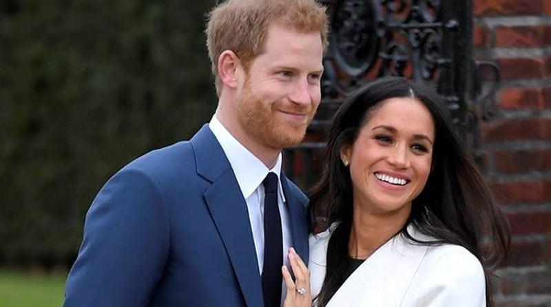 Prince Harry with Meghan Markle