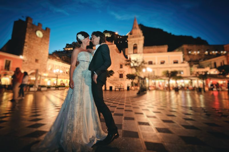 perfect summer wedding in Sicily
