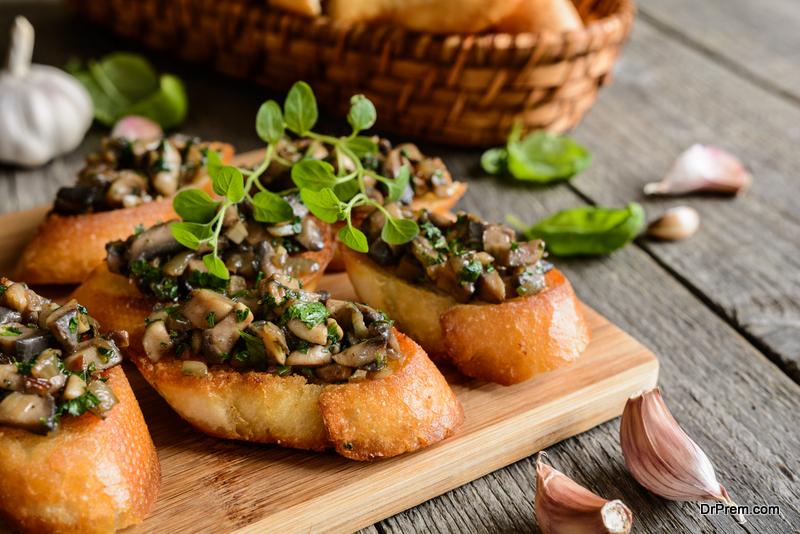 Mushroom-Bruschetta-bites
