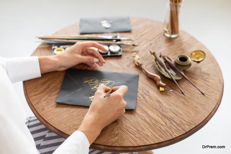 calligraphy artist