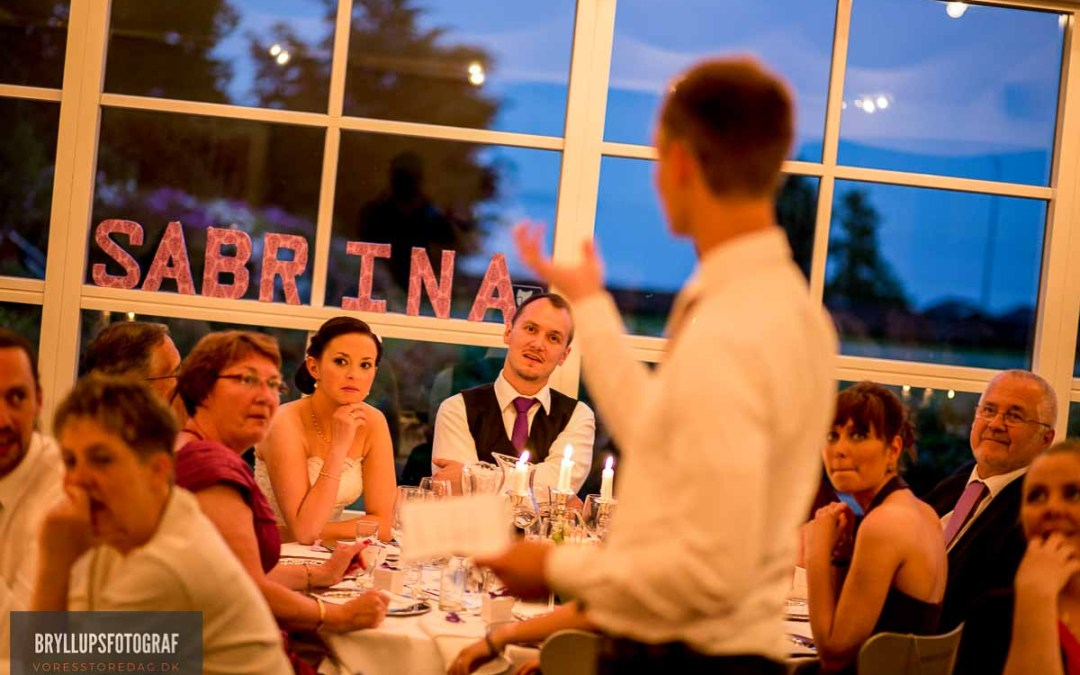 WEDDING SPEECHES WITHOUT PANICKING