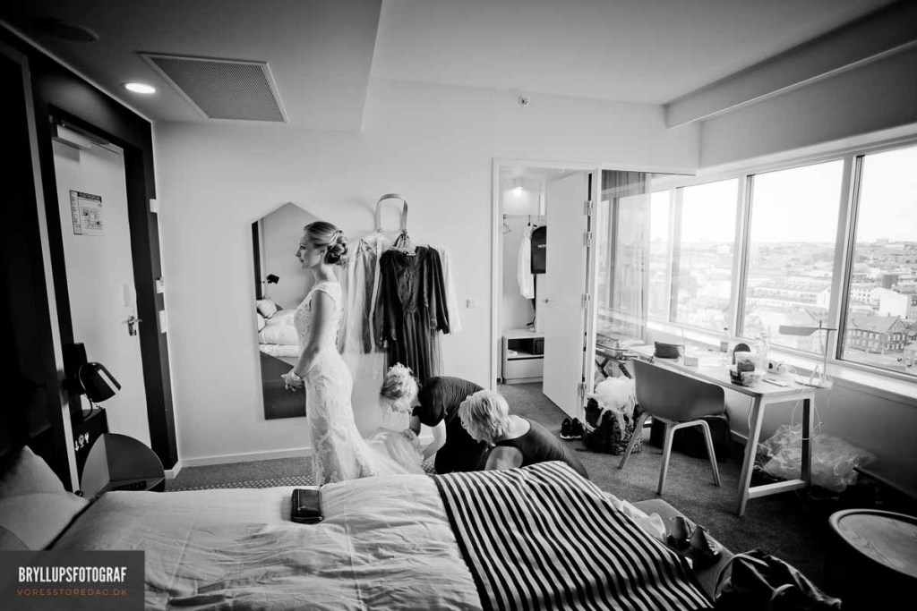 bryllup Bjerringbro