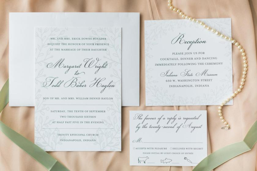 Custom Or Ready Made Invitations Which Option Is The Best Fit For Your Wedding