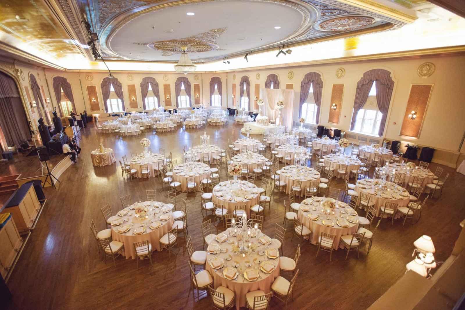 Classic Hotel Reception Wedding