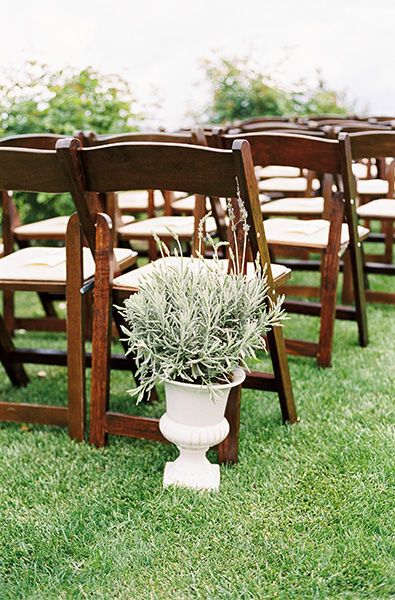brown wooden folding chairs lumbar chair support wedding day flair