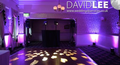 Bartle Hall Preston DJ and Uplighting