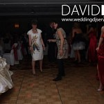 Bride dancing at Worsley Marriott