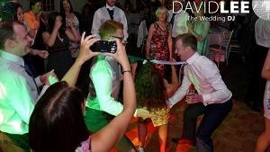 Limbo Dancing at Wedding