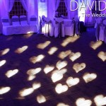 White Hearts for Yorkshire Wedding