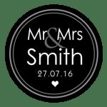 Mr & Mrs Monogram 18