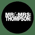 Mr & Mrs Monogram 20