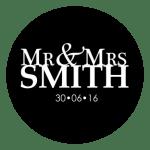 Mr & Mrs Monogram 26