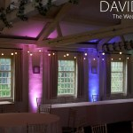 Cheshire venue lighting for weddings