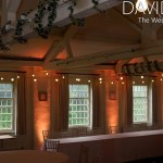 Festoons at Quarry Bank Cheshire with uplighting