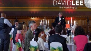 Wedding Speeches in the Great Hall