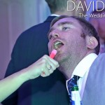 Singing in to a glowstick
