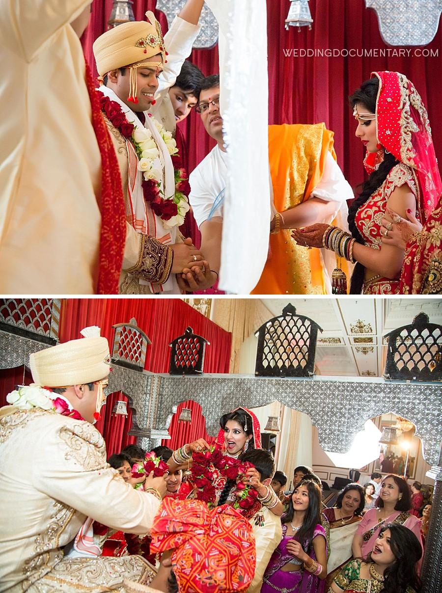 Hindu Wedding at the Palace Hotel San Francisco  Wedding