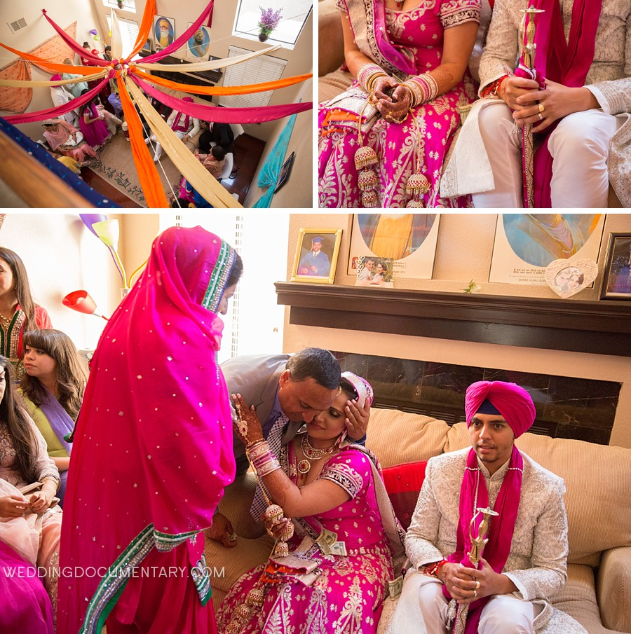 Amanpreet Kanwar Sikh Wedding At San Jose Gurdwara Wedding