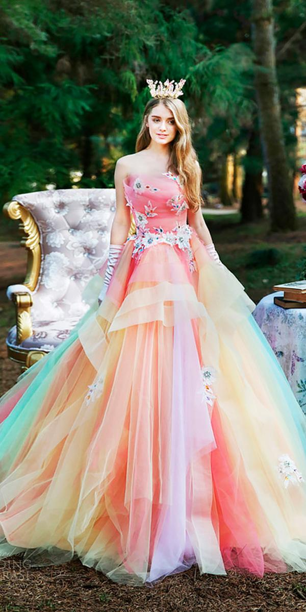 18 Pink Wedding Dresses You Like Immediatly  Wedding