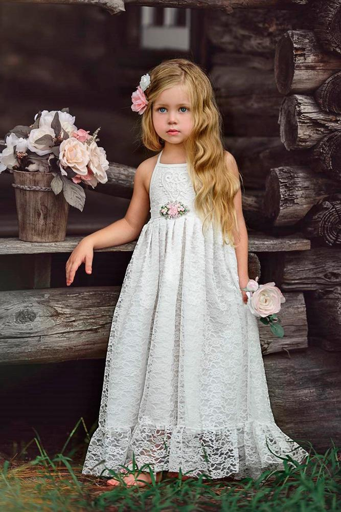 Must Have 2019 24 Lace Flower Girl Dresses  Wedding Dresses Guide