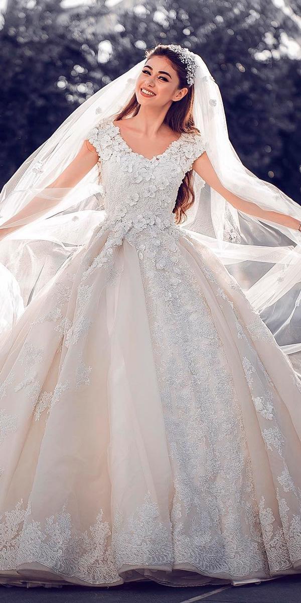 18 Princess Wedding Dresses For Fairy Tale Celebration  Wedding Dresses Guide