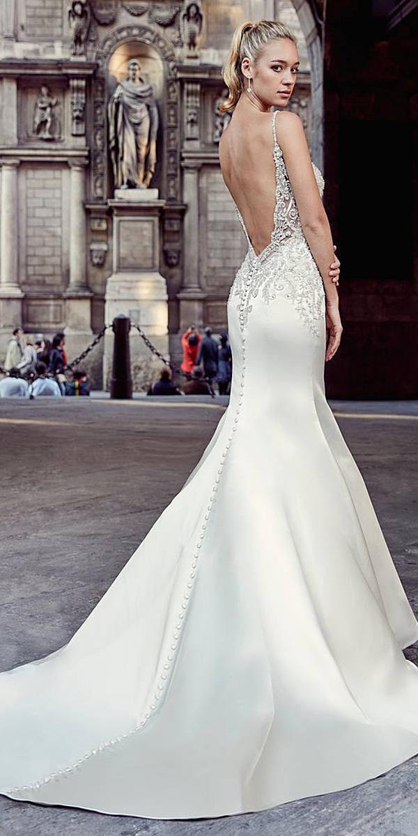 24 Trumpet Wedding Dresses That Are Fancy  Romantic  Wedding Dresses Guide
