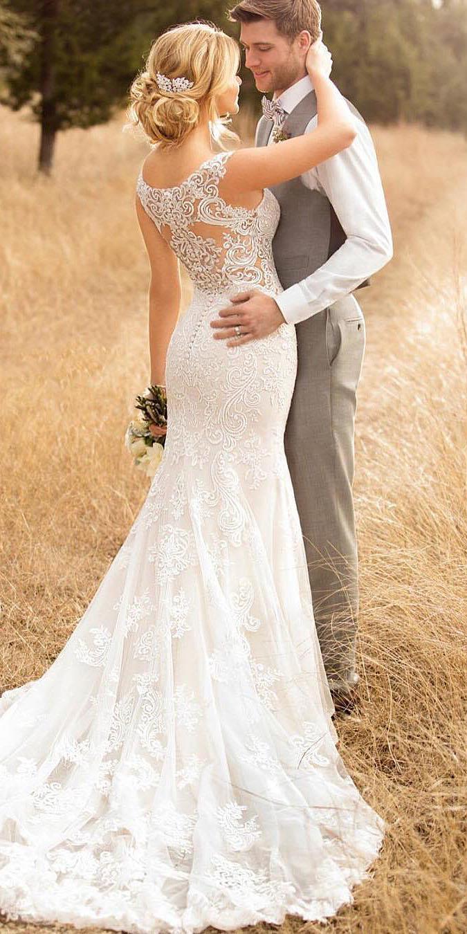 30 Unique Lace Wedding Dresses That Wow  Wedding Dresses