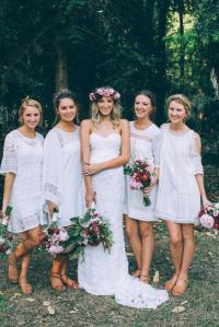 21 Ideas For Rustic Bridesmaid Dresses | Wedding Dresses Guide