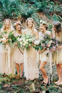 rustic-bridesmaid-dresses-long-short-lace-embellishment ...