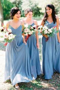 18 Blue Bridesmaid Dresses For Great Wedding
