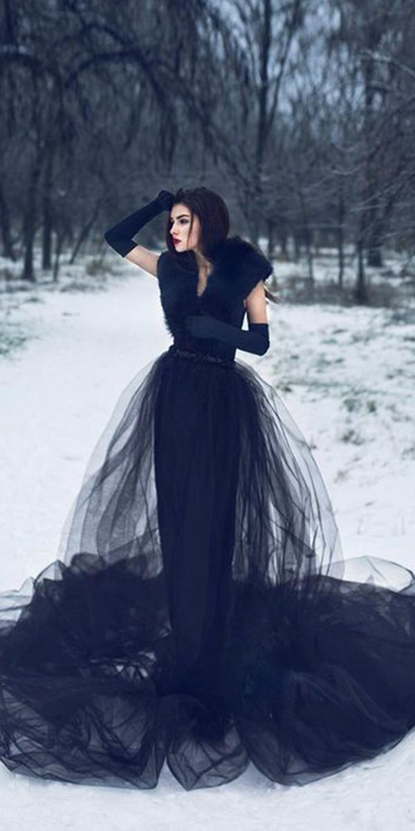 Dark Romance 24 Gothic Wedding Dresses  Wedding Dresses Guide