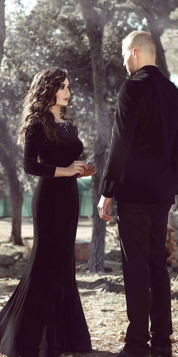 Dark Romance 24 Gothic Wedding Dresses  Wedding Dresses