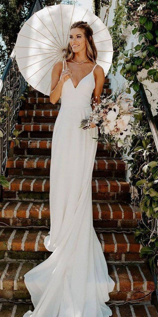 24 Rustic Wedding Dresses To Be A Charming Bride Top