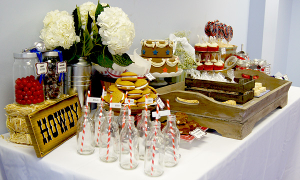 Ideas Of The Western-Themed Wedding Cakes