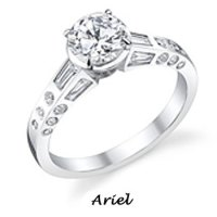 Ariel engagement ring by Disney