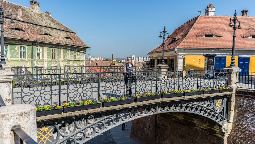 Honeymoon in Transylvania visit Sibiu
