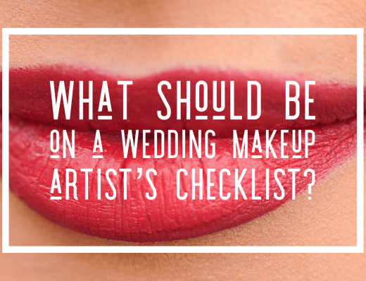 What should be on a Wedding Makeup Artist's Checklist? with Chrys Chapman